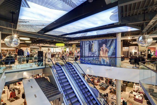 CB Hannover Deckengestaltung Nette+Hartmann Shopdesign Innenarchitektur Skyline Hamburg