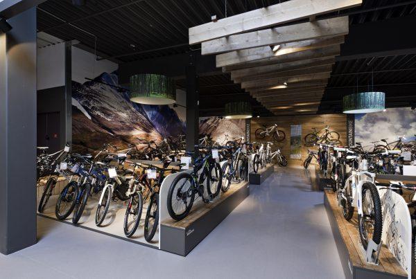 Fahrrad XXL Meinhövel Bochum Nette+Hartmann Hamburg Shopdesign Entwurf Umsetzung